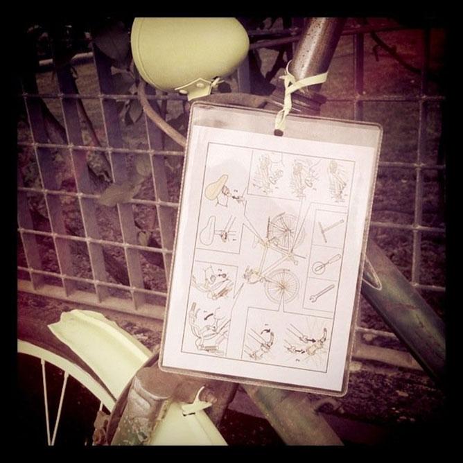 Istruzioni manutenzione bicicletta