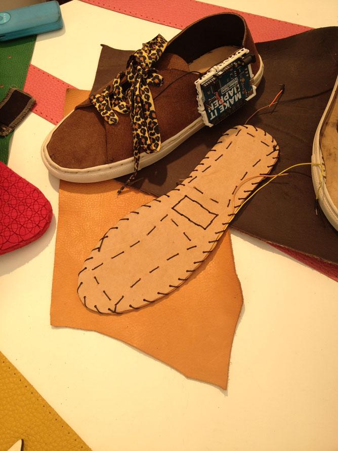 Tessuti intelligenti per calzature