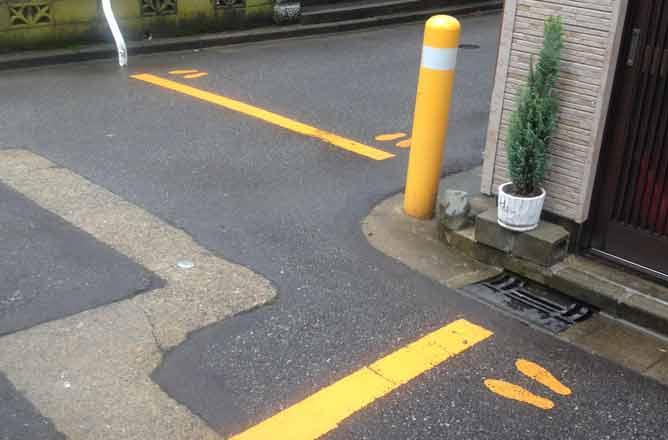 foto di una strada giapponese