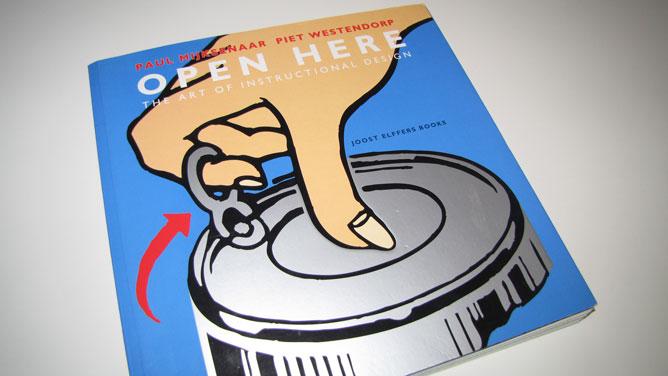 "copertina libro ""Open here"""