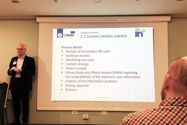 intervento alla conferenza tekom di Bologna