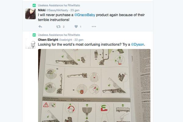 due tweet che citano le aziende