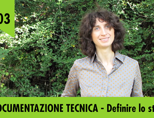 Documentazione tecnica – pillola video #03