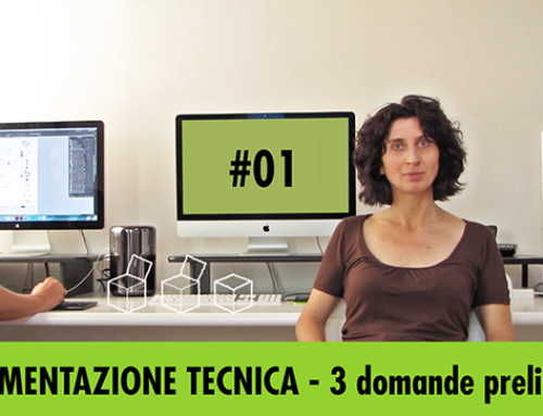 Documentazione tecnica – pillola video #01