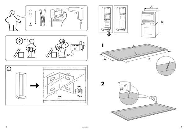Istruzioni montaggio mobili ikea fuori produzione