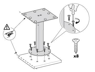 studiodz istruzioni montaggio tavolo