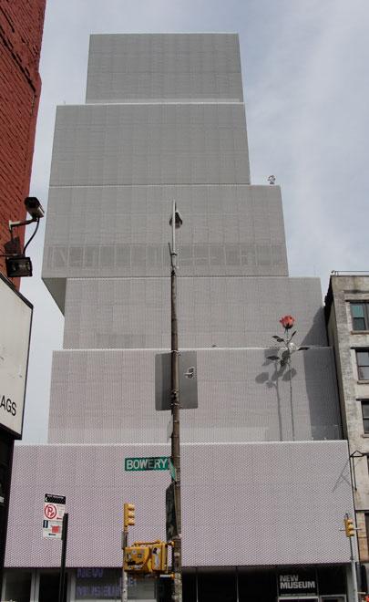 esterno del new museum di new york