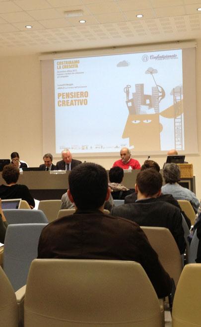 Asolo conferenza sul pensiero creativo