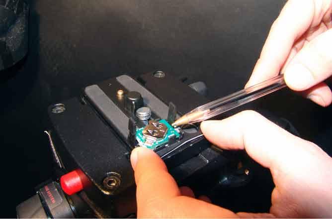 foto: sostituzione della batteria